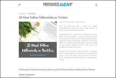 30 Must Follow Millennials on Twitter